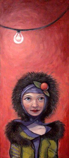Kelly Vivanco - Art - Bare Bulb