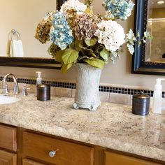 ~Sicilian Sand Bathroom using Giani Stone Paints for your countertops~