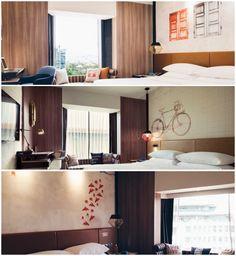 Hotel Jen Tanglin - Customized Luxury Vinyl Wallpaper from Wall & Deco.