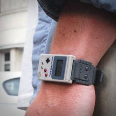 The Nintendo Game Boy watch