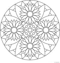 Four More Mandala Coloring Pages - News - Bubblews