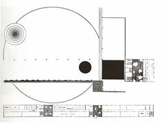 Film Institute, 1927 I. Piccadilly Circus, Einstein, Conceptual Sketches, Plan Drawing, Film Institute, Graduation Project, Architecture Drawings, Architecture Diagrams, Abstract Drawings