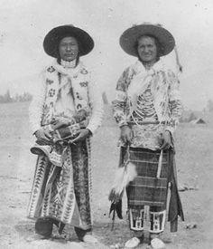 Jack Big Plume (Sarcee), Wolf Gun (Kootenai) - circa 1920