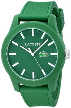 Amazon.com: Lacoste Men's 2010763 Lacoste.12.12 Analog Display Japanese Quartz Green Watch: Watches