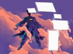 Impactful illustrations for designers Batman, Superhero, Designers, Illustrations, Fictional Characters, Art, Art Background, Illustration, Kunst