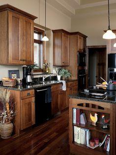 Traditional Kitchen Quartersawn Oak design