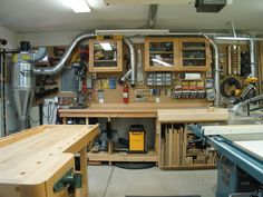 Woodworking, Jewelry and Knife-making shop.