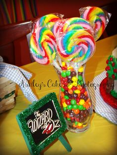 wizard of oz party Ashley's Cakes & Photography...fb page