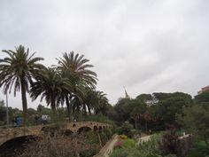 Barcelona Ogród Gaudiego