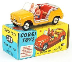 Corgi Toys - Ghia Fiat 600 - N°242