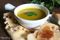 Vidyascooking: Curried Carrot Soup Recipe