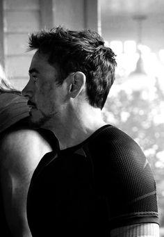 "avengers, robert downey jr. - Tony Stark arriving at Clint's farm in ""Age of Ultron"""