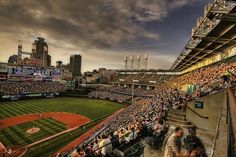 Cleveland Indians @ Sunset