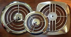Vintage 1950s Nutone 8210 Ceiling Wall Chrome Kiitchen