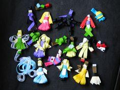 Disney Character Ribbon Sculpture Hair Clips