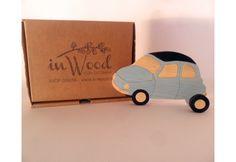 Auto Vintage appendiabito in legno per la cameretta