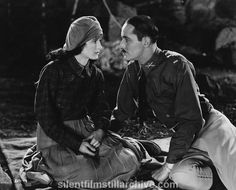 Marceline Day and Norman Kerry in THE BARRIER (1926)