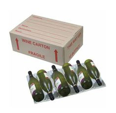 Lay-Down Wine Box (Moulded Inserts incl) Packing To Move, Moving Boxes, Packaging Supplies, Packing Boxes, Wine Rack, Wine Boxes, Cardboard Boxes, Melbourne