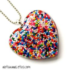 Candy sprinkle jewelry!