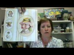 Декупаж Декор мебельного фасада из сосны и глиняного кувшина Марина Жукова - YouTube