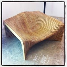 Awesome bench from Paris Design Week