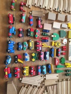 Huge Lot Of Thomas Brio Trains Compatible Wood Wooden Track Extra Parts & Pieces