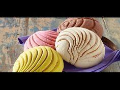 Conchas Recipe ✿ Pan De Dulce Receta (Sweet Bread) - January 11, 2014 - YouTube