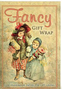 Fancy gift wrap