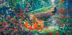 The fox and the hound - James Coleman