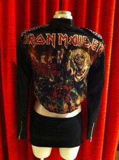 Iron Maiden Metal Jacket size S-M