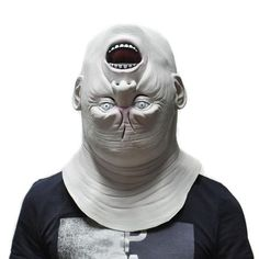 2017 Scary Halloween Devil Masks Creepy Upside-down Ghost Adult Latex  – Save Major