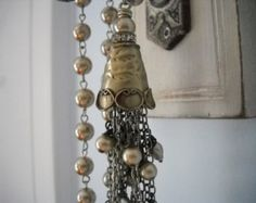 Popular items for shabby chic pearls on Etsy