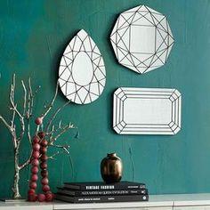 west elm Gem Cutout Mirrors on shopstyle.com