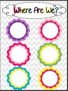Chevron Word Wall Letters - FREE