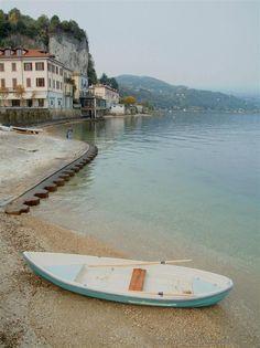 Arona (Novara, Italy) - The beach of Arona