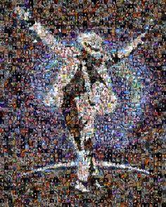 <3 Michael Jackson <3 Awesome mosaic
