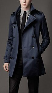 MID-LENGTH HERITAGE COTTON TRENCH COAT