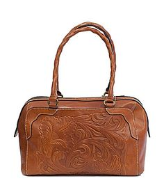 Patricia Nash Tooled Fabriano Satchel #Dillards