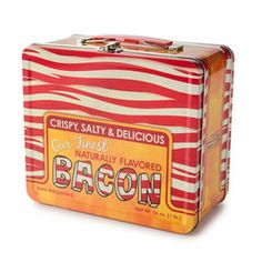 Need a place to carry your bacon sandwiches, bacon burritos, bacon candy, bacon cookies, and bacon soda?  Worried that your brown bag is a l...