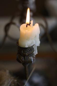 Antique candleholder