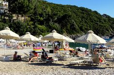 Travel and Lifestyle Diaries Blog: Agia Triada Beach in Paleokastritsa (Corfu): Akron Beach Bar