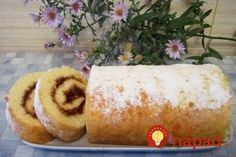 How to Make a Swiss Roll with jam Russian Desserts, Russian Recipes, Quick Rolls, Sweet Pastries, Food Shows, Just Cooking, World Recipes, Hot Dog Buns, Sweet Recipes
