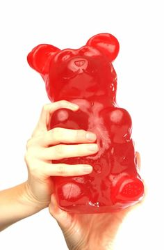 4.5 pound gummy bear, @Antavis Geoffroy Hillesland i'm gonna buy this for you one day for no reason at all! Gummy Bear Candy, Gummy Bears, Candy Gift Box, Candy Gifts, Gag Gifts, Gifts For Teens, Gifts For Him, Tween Gifts, Cool Gifts