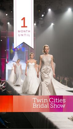 Join us September 27th at the Saint Paul RiverCentre Plan Your Wedding, Dream Wedding, Bridal Show, Twin Cities, Wedding Vendors, Big Day, Twins, Fashion Show, September