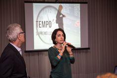 Claudia Matarazzo, consultora de etiqueta , moda e comportamento e Mario Ameni, cerimonialista e consultor de eventos, durante palestra para mulheres