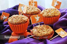 Babeczki marchewkowe, babeczki z marchewką, muffiny marchewkowe, dla dzieci, http://najsmaczniejsze.pl #food #babeczki