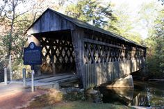 Poole's Mill Covered Bridge in Forsyth County, GA
