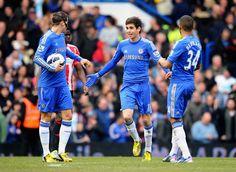 Torres, Oscar & Bertrand. Chelsea 2 - 1 Sunderland.