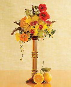 Brides: Flower Ideas for a Rustic Wedding :