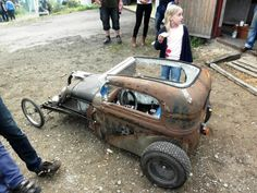 Rat Rod Pedal Car . . . too cool!